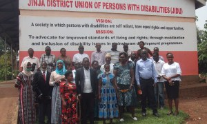 AFLI disseminates the Braille parliamentary scorecard 2018-2019 to the Visually Impaired in Eastern Uganda