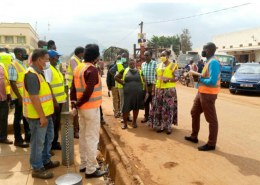Mbale city residents pin dot services over shoddy works