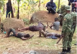 A fire exchange between security personnel and Kapchorwa's notorious criminal leaves one dead and three injured