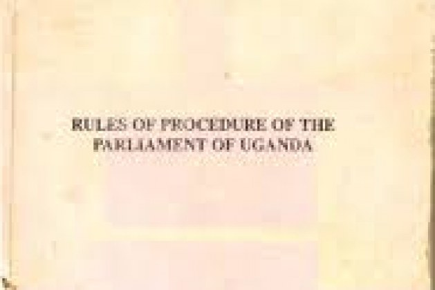 Proposal to amend the rules and procedures of parliament tabled